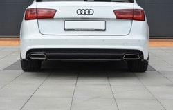 A6 - Bakre diffuser splitter - Audi A6 C7.5 Facelift