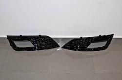 A4 - RS dimljus galler till Audi A4 B8.5 blanksvart