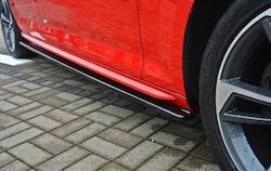 A4 - Sidokjol splitter - Audi A4 B9 S-line