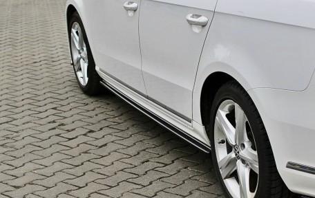PASSAT - Sidokjol splitters - VW Passat B7 R-line
