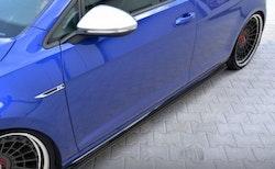 """GOLF - Sidokjol splitter """"racing"""" - VW GOLF MK7.5 R Facelift"""