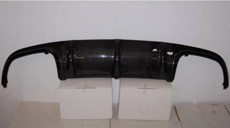 C-class W204 4D 07-10 Kolfiber bakre diffuser AMG
