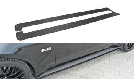 MUSTANG - Sidokjol splitter - Mustang MK6 GT ABS/Carbon