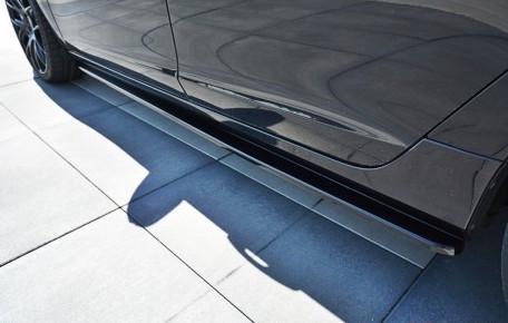 V60 - Sidokjol splitter - Volvo V60 Polestar Facelift (2014-2018)