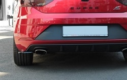 SEAT LEON CUPRA - Bakre sidosplitters  Seat Leon Mk3 Cupra Facelift