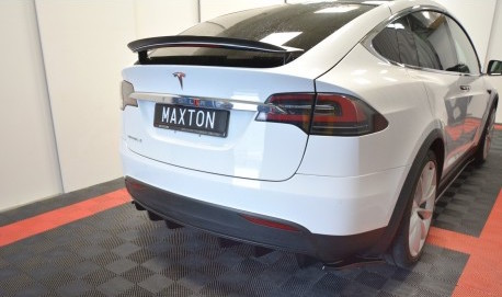 TESLA - Bakre diffuser splitter - Tesla Model X
