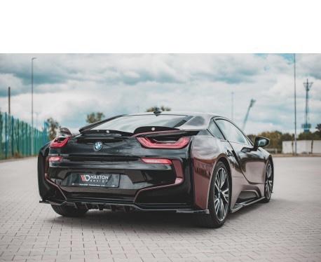 i8 - Bakre diffuser splitter med vertikala bars - BMW i8