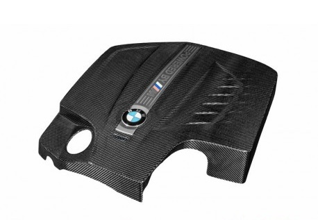 M2 - BMW M2 F87 - Svart Kolfiber Engine Cover - Eventuri