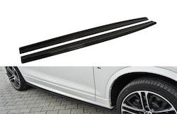 X4 - Sidokjolar diffusers BMW X4 M-PACK