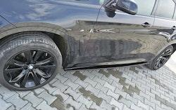 X6 - Sidokjol splitter - BMW X6 F16 M-paket