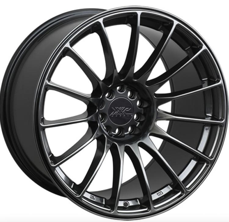 XXR 550 Chromium Black alufälg Från: