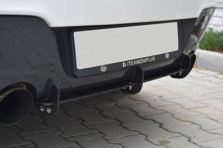 BMW 1 F20 / F21 M-POWER BAKDIFFUSERARE & BAKSIDA SPLITTER