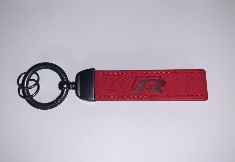 VOLKSWAGEN - R - Nyckelring (röd)