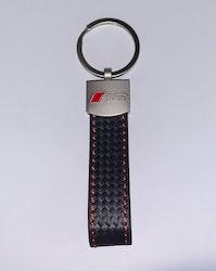AUDI - RS - Nyckelring (svart - skin)