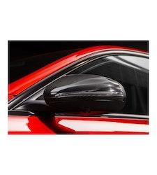 Mercedes-benz C Klass W205 Kolfiber spegelkåpor