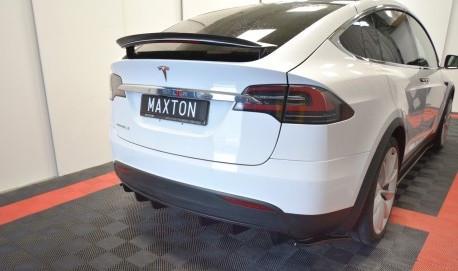 TESLA - Bakre diffuser splitter - Tesla Model S Facelift