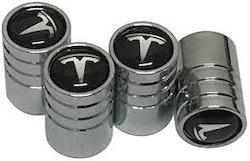 Tesla Logo Ventilhattar