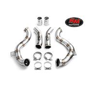 MERCEDES BENZ - Downpipe -  V8 Bi-Turbo 2015- 476 hk RWD