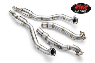 AUDI - Downpipe + katalysator - S6-S7-RS6-RS7 4.0 TFSI
