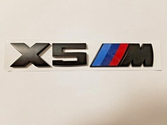 BMW Modellbeteckning X5 M SVART