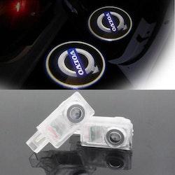 Volvo LED logga till dörr