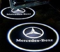 Mercedes Benz dörrlampor LED LOGO