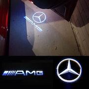AMG dörrlampor LED LOGO