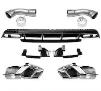 Mercedes Benz w176 Amg Diffusor paket Facelift