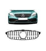 Mercedes-benz C Klass W205 Grill AMG GT KROM FACELIFT