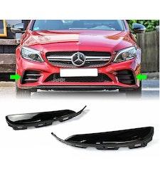 Mercedes-benz C Klass W205 FLAP SPLITTER INTAKE