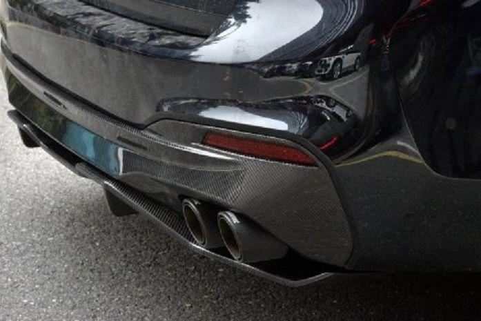 BMW G30 G31 DIFFUSOR M PERFORMANCE INKL ADD ON SPLITTER KOLFIBER