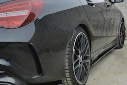 Sidokjol splitter - Mercedes CLA45 AMG C117 Facelift