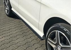 Sidokjol splitters - Mercedes GLE W292 AMG-Paket