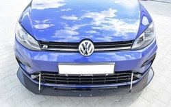 VW Golf MK7 R (facelift) carbon frontläpp