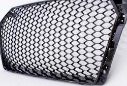 Grill Honeycomb Blank-Svart Audi A4 B9 2016->