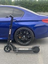 Sparco - Elsparkcykel - svart