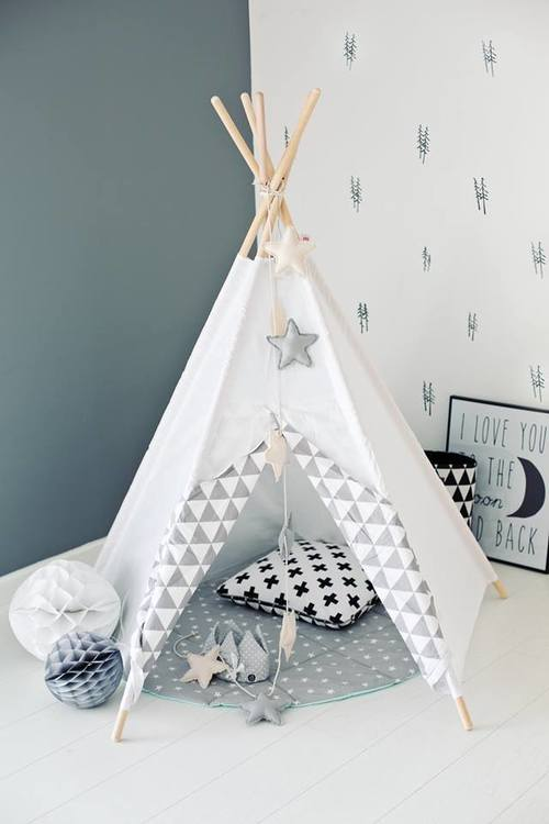 Teepee White Mist, Little Nomad