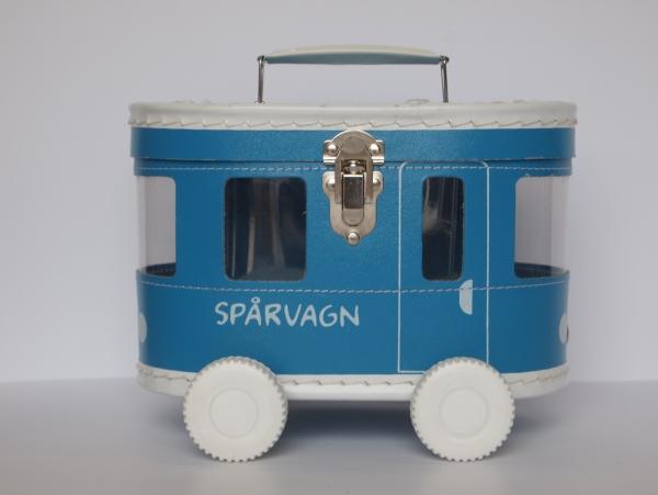 Väska Spårvagn Blå, från Balders