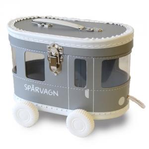 Väska Spårvagn Grå, från Balders