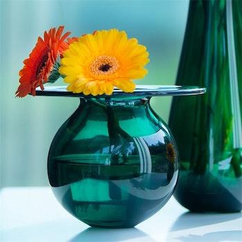 Magnor Finn Schjøll Vase boblen grønn liten 120mm