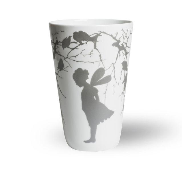 Wik & Walsøe Alv Silver Vase