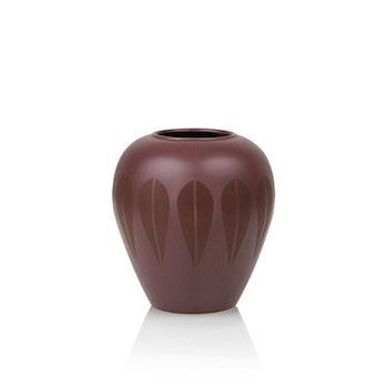 Lotus Vase Dark Red