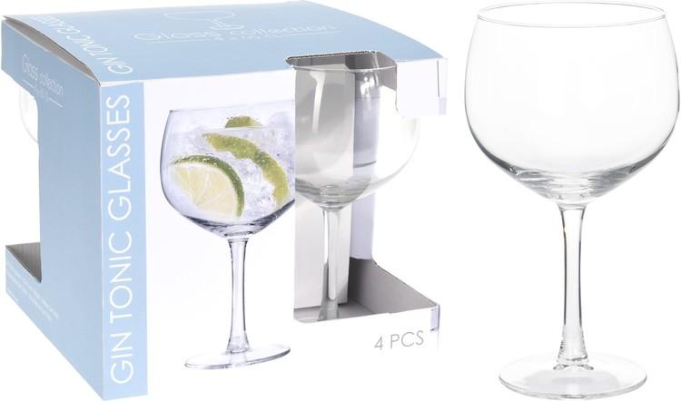 Gin & -Tonicglass 4 pk.