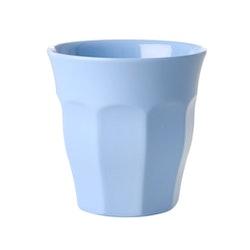 Rice Melamine cup/ glass pigeon bluemedium