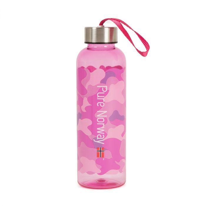 Pure Norway drikkeFlaske 500ml  CAMO rosa