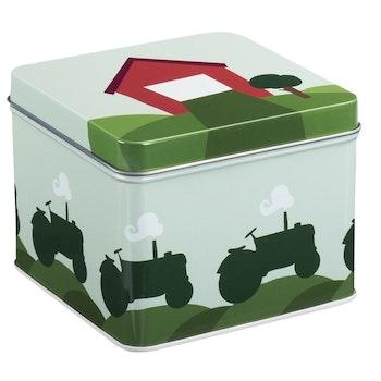 Matboks Traktor og låve, Grønn