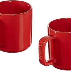 Staub Mug Ceramic cherry 2 stk. rundt .8 cm