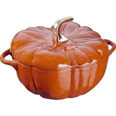 Staub Cocotte pumpkin kanel ceramic  .7 L