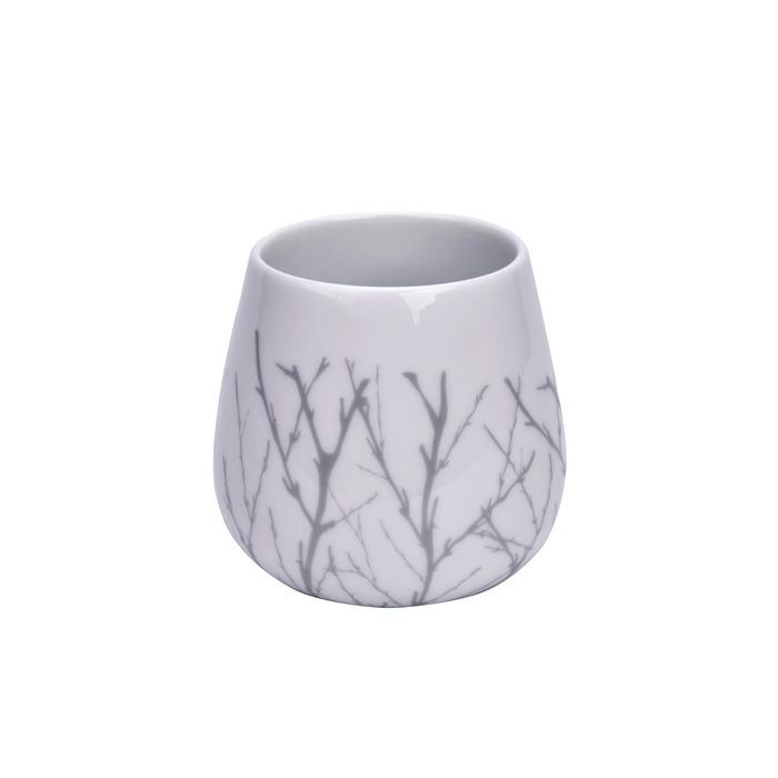 Modern House bjørk krus hvit/ grå 230ml