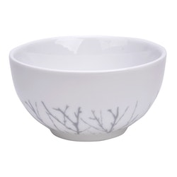 Modern House bjørk skål hvit grå .5L